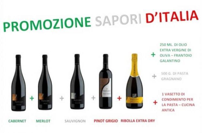 Straordinaria Promozione dedicata ai Sapori d'Italia